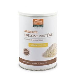 Mattisson Absolutes Edelhefeprotein vegan 60% 400 Gramm