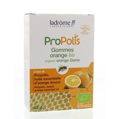 Ladrome Propolis Radiergummis Orange Bio 45 Gramm