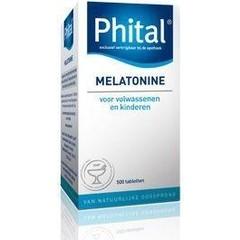 Phital Melatonin 0,1 mg 500 Tabletten