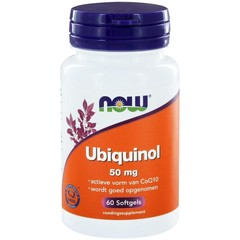 NOW Co-Q10 Ubiquinol 50 mg 60 Kapseln