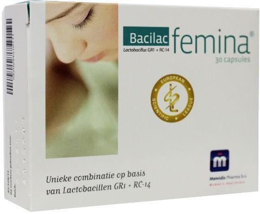 Memidis Pharma Memidis Pharma Bacilac femina 30 Kapseln.