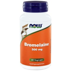 NOW Bromelaine 500 mg 60 vcaps
