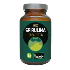 Hanoju Bio Spirulina 400 mg Glasfläschchen