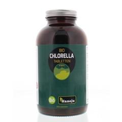 Hanoju Biochlorella 400 mg Glasfläschchen