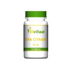Elvitaal Zinkcitrat 50 mg 120 Tabletten