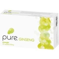 Pure Reiner Ginseng 200 mg 24% 30 Kapseln.