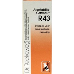 Reckeweg Arsetabilis gastreu R43 50 ml