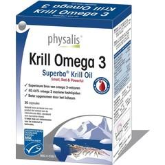 Physalis Krill Omega 3 30 Kapseln.