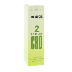 Cannamedic Hanföl 2% CBD 10 ml