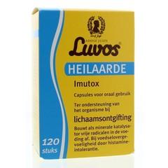 Luvos Heilaarde Imutox Kappen. 120 Kapseln.