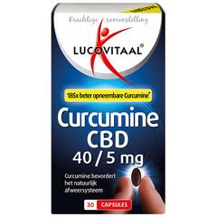 Lucovitaal Lucovital Curcumin CBD 40/5 mg 30 Kapseln.
