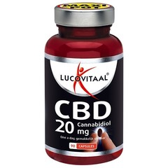 Lucovitaal Lucovital Cannabidiol CBD 20 mg 90 Kapseln.