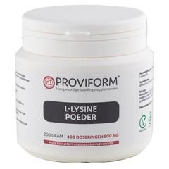 Proviform L-Lysin Pulver 200 Gramm
