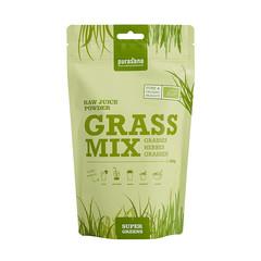 Purasana Grass mix Rohsaftpulver 200 Gramm