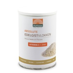 Mattisson Edelhefe Flocken Vitamin B12 + Zink 200 Gramm