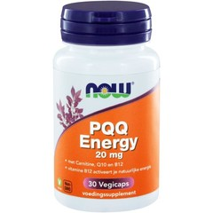 NOW PQQ Energy 20 mg 30 vcaps