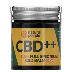 Natural People CBD Balm 0,5% 100 ml