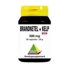 SNP Brennnessel + Seetang 500 mg rein 90 Kapseln.