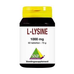 SNP L-Lysin 1000 mg 60 Tabletten