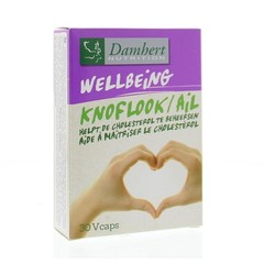 Damhert Damhirsch Knoblauch-Cholesterin-Supplement 30 vcaps