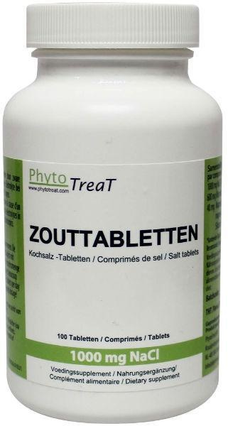 Phytotreat Phytotreat Salztabletten 1000 mg NACL 100 Tabletten