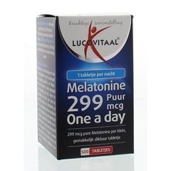 Lucovitaal Lucovital Melatonin pure 0,299 mg 500 Tabletten