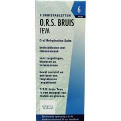 Teva ORS Bruis 6 Tabletten
