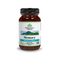Organic India Memory bio 90 Kapseln.