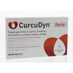 Metagenics Curcudyn forte NF 30 Kapseln.