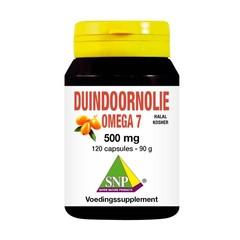 SNP Sanddornöl Omega 7 Halal Kosher 500 mg 120 Kapseln.