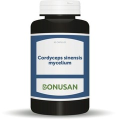 Bonusan Cordyceps sinensis Myzel 90 Kapseln.