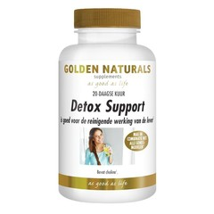 Golden Naturals Detox unterstützt 60 vcaps