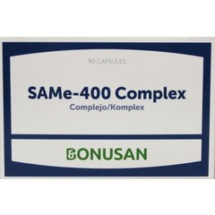 Bonusan Gleiche 400 komplexe 90 Kapseln.