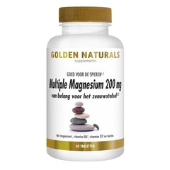 Golden Naturals Mehrfaches Magnesium 200 mg 60 vcaps