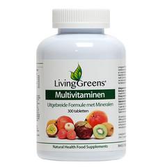 Livinggreens Multi Vitamine & Mineralien Antioxidans 300 Tabletten