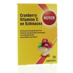 Roter Cranberry Vitamin C & Echinacea 30 Tabletten