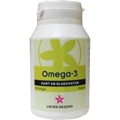 Liever Gezond Bevorzugen Sie gesunde Omega 3 60 Kapseln