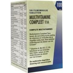 Teva Multivitamin vervollständigen 100 Tabletten