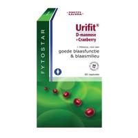 Fytostar Fytostar Urifit D Mannose + Cranberry 60 Kapseln.