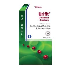 Fytostar Urifit D Mannose + Cranberry 60 Kapseln.