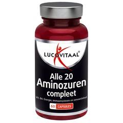 Lucovitaal Lucovital Aminosäure & Vitamin B6 60 Kapseln.