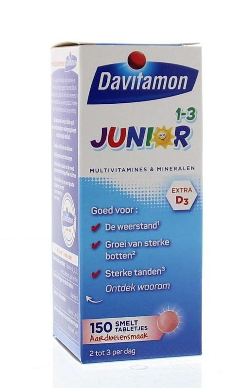 Davitamon Davitamon Junior 1+ Schmelztablette 150 Tabletten