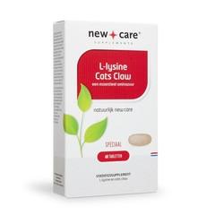 New Care L Lysin + Katzenkralle 60 Tabletten