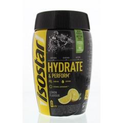 Isostar Hydrate & Perform Zitrone 400 Gramm