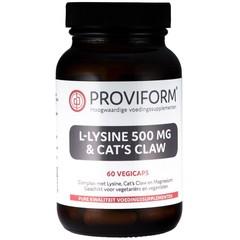 Proviform L-Lysin 500 mg & Katzenschere 60 vcaps
