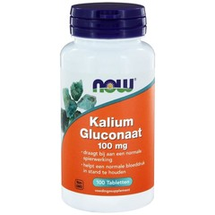 NOW Kaliumgluconat 100 mg 100 Tabletten