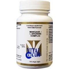 Vital Cell Life Mangan / L-Arginin-Komplex 100 Kapseln.