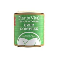 Plantavital Eisenkomplex - 100% pflanzlich 30 Kapseln
