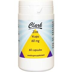 Clark Zinc 60 mg 60 vcaps