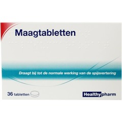 Healthypharm Magentabletten Calciumcarbonat 36 Tabletten